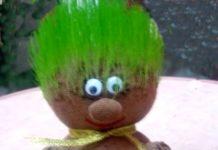Экоигрушка - травянчик