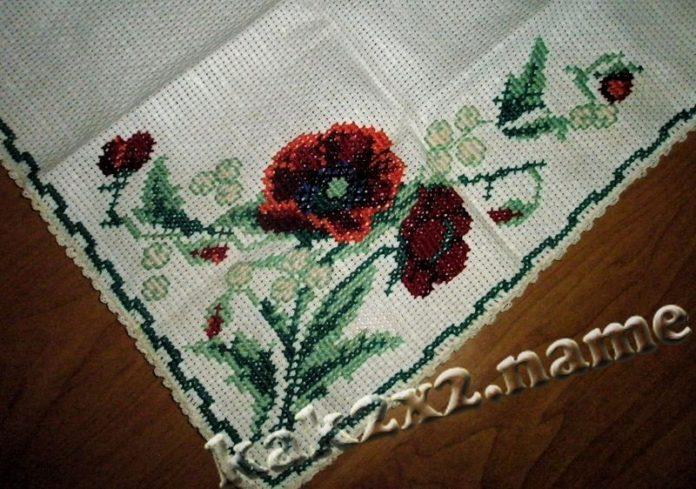 История вышивки
